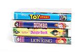 Disney vintage VHS tapes