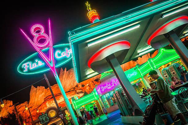 Disneyland 60th aniversary at cars land night time picture id534397792?b=1&k=6&m=534397792&s=612x612&w=0&h=hvw lxsgoxztjrtypgo gvewzrihzs 0turohwtezkk=