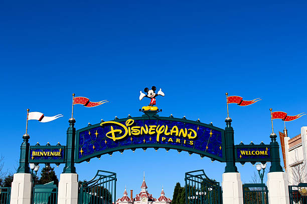 Disneyland Paris stock photo