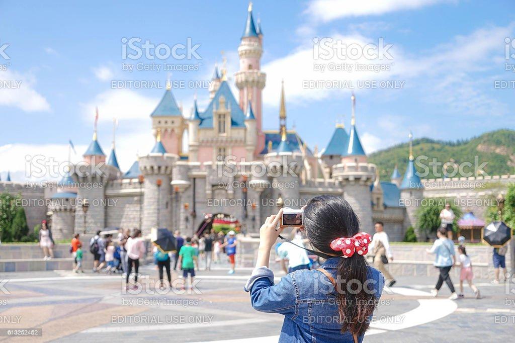 Disneyland stock photo