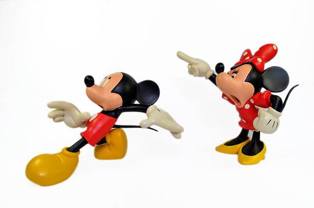 Disney's Mickey & Minnie Mouse. stock photo