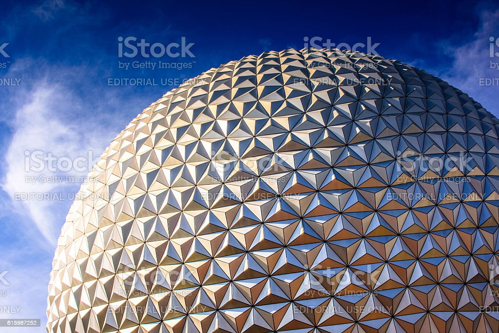 Disneyworld park in Florida stock photo