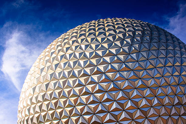disneyworld park in florida - fantasie disney stock-fotos und bilder