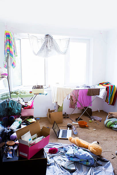 disoder im Zimmer – Foto
