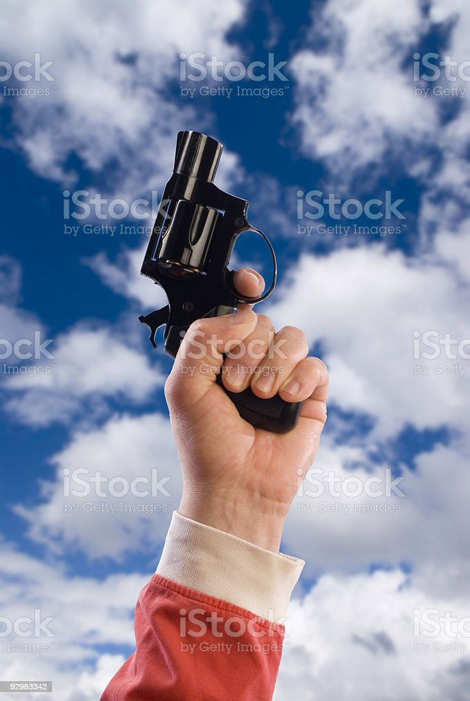 disparo de partida - foto de stock