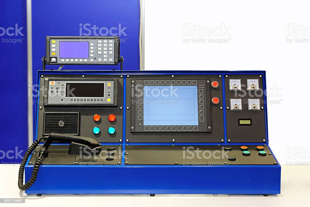 Dispatcher desk stock photo