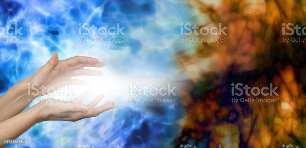 Dispersing Negative Energies stock photo