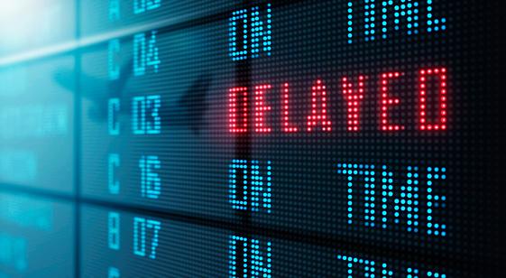 LED Display - Airport flight status board