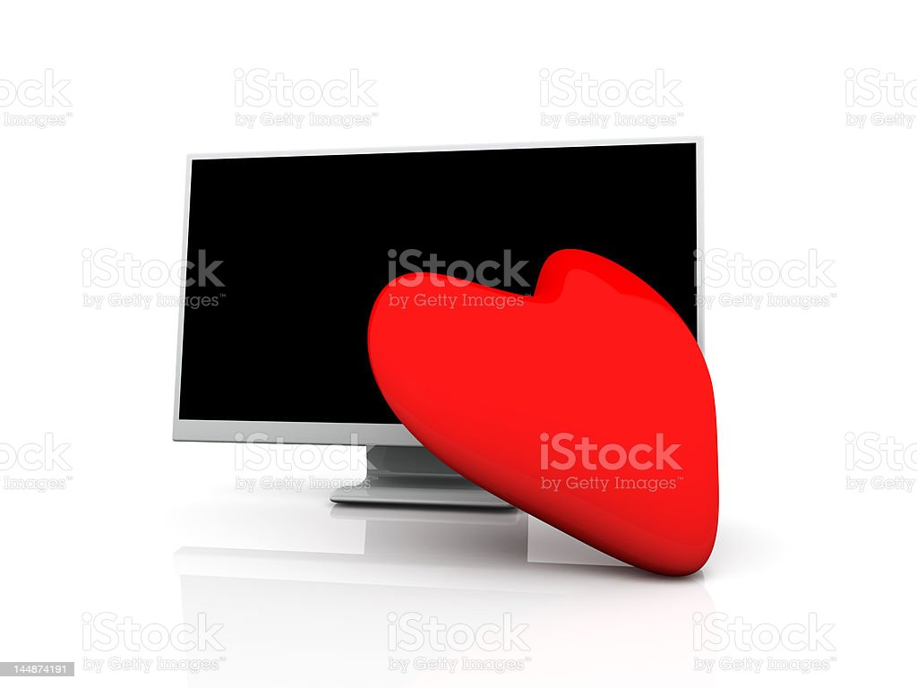 Display in Love royalty-free stock photo