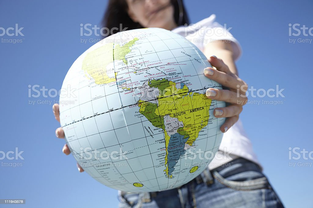 A display of multiple countries royalty-free stock photo