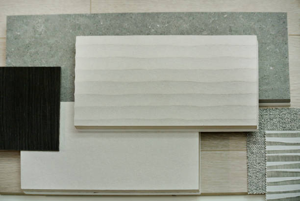 anzeige der holzplatten zu verkaufen - laminat günstig stock-fotos und bilder