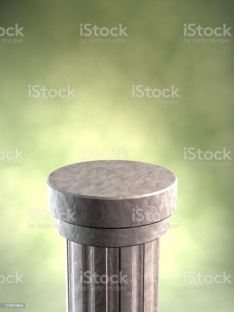 Display Pedestal royalty-free stock photo