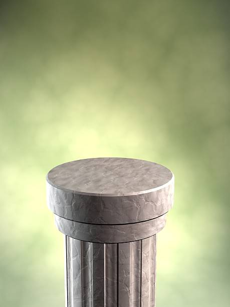 Display Pedestal stock photo