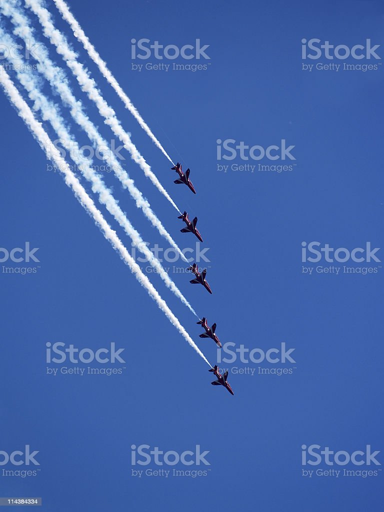 Display Team royalty-free stock photo