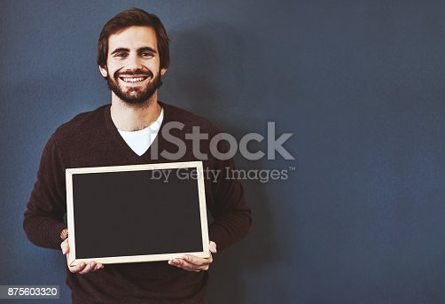 istock Display your message on this prime spot 875603320