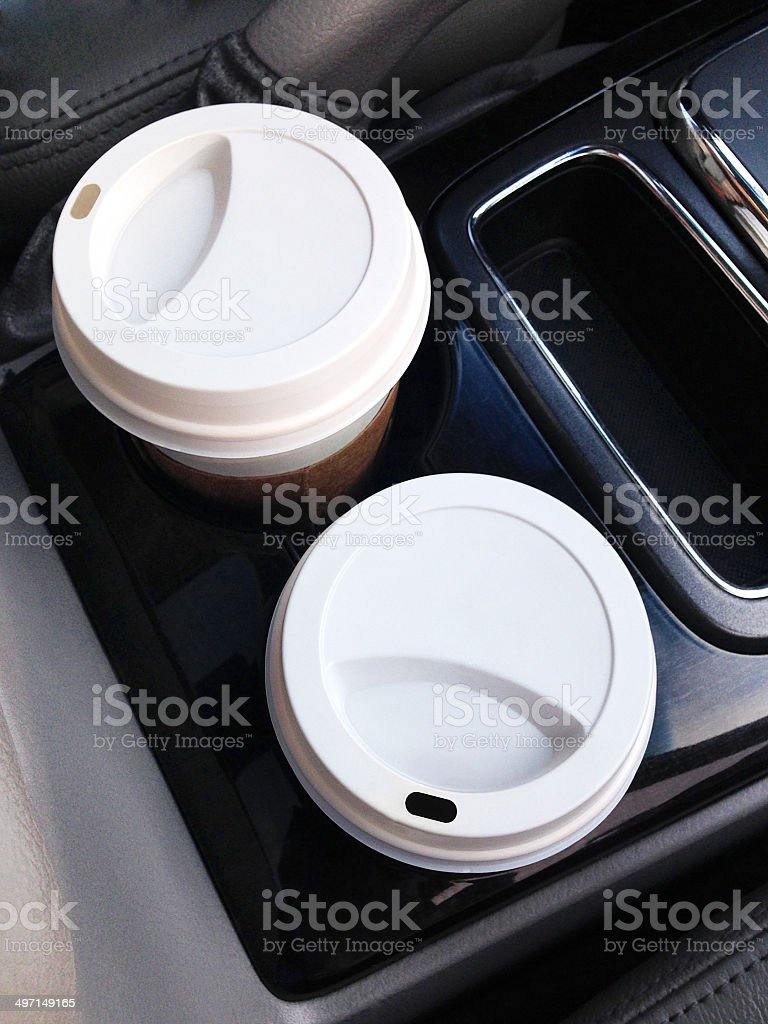 Disposable Coffee Cups (Click for more) royalty-free stock photo