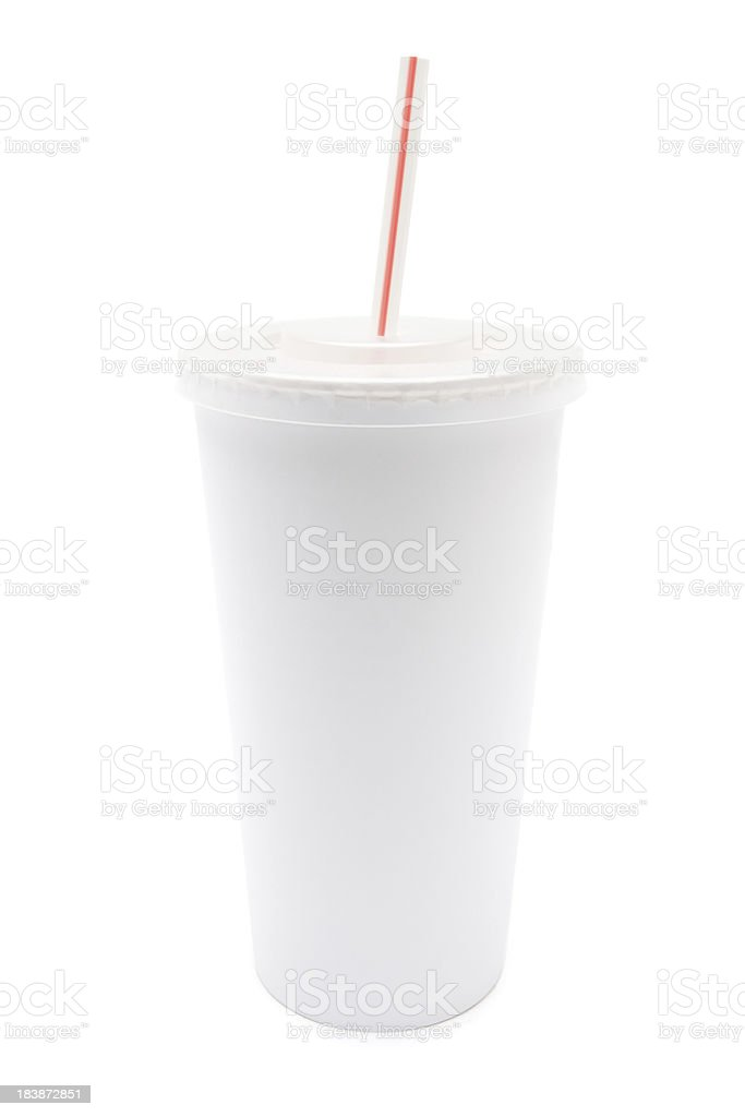 Disposable Cup stock photo