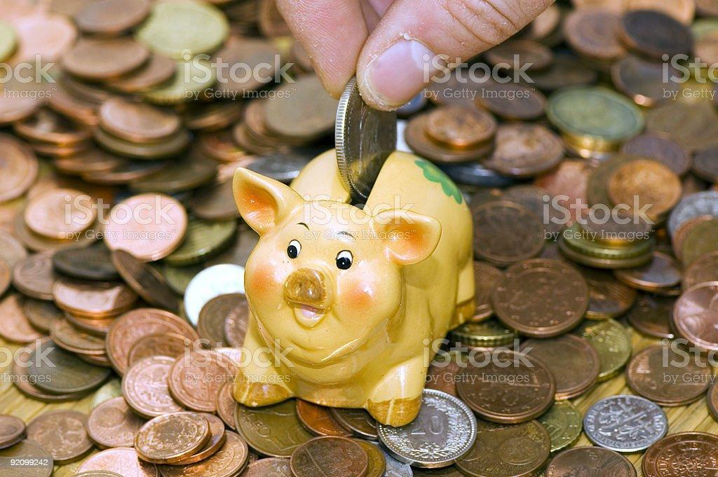 Disposable income stock photo