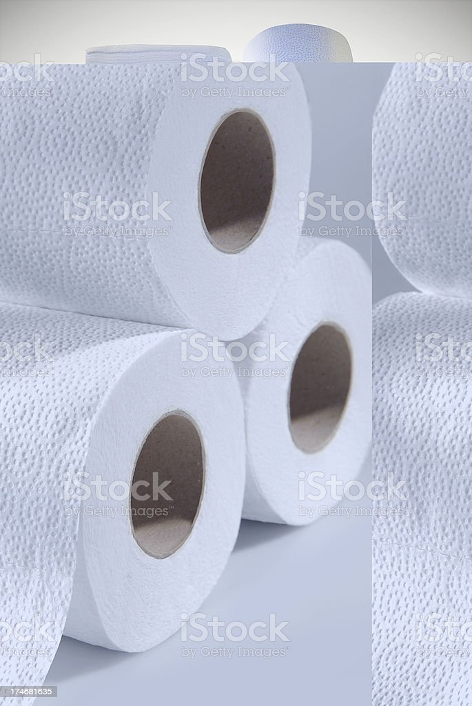 Disposable paper royalty-free stock photo