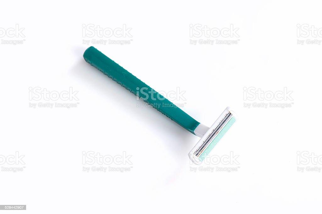 disposable razor stock photo