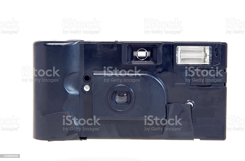 Disposable Recyclable Camera stock photo