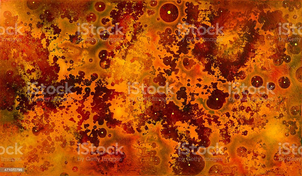 disrupted orange-red back royalty-free stock photo