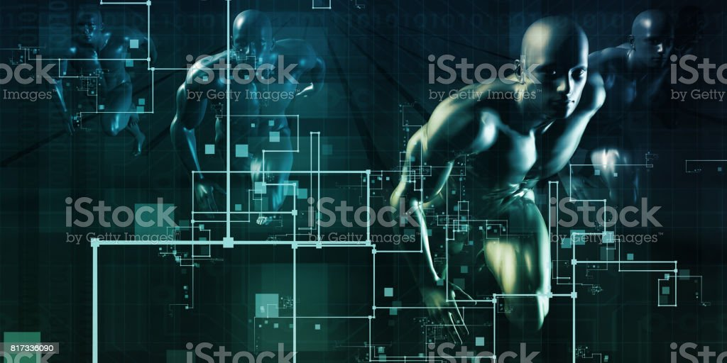 Disruptive Technology stock photo
