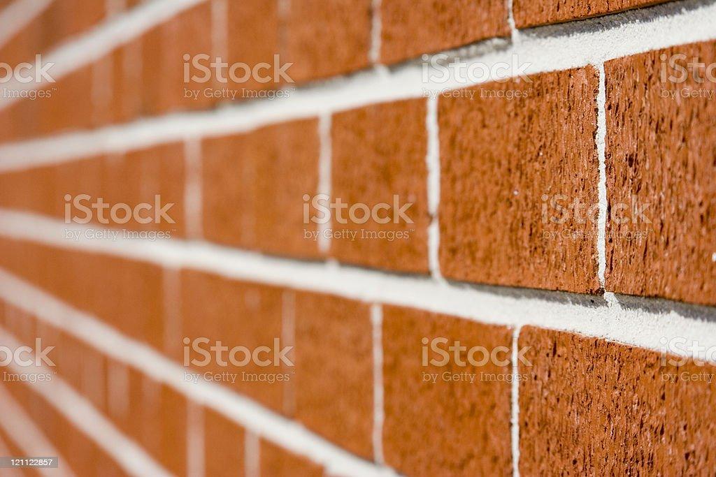 dissapearing bricks royalty-free stock photo