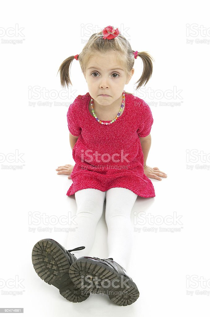 Dissatisfied royalty-free stock photo