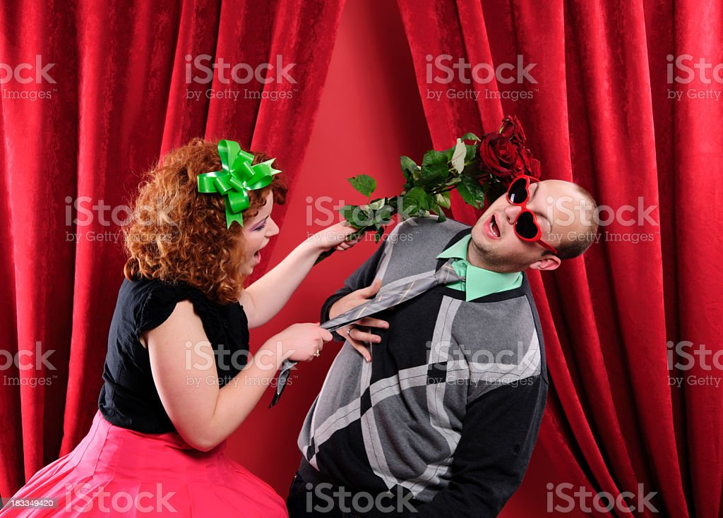 dissatisfied with her present royalty-free stock photo