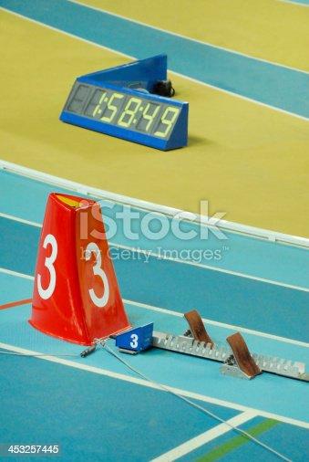 Short-distance running. Athletics Championship.