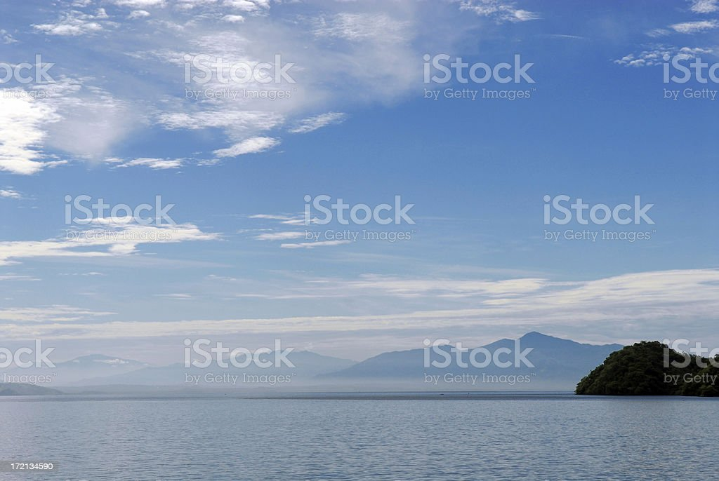 Distant gradient royalty-free stock photo