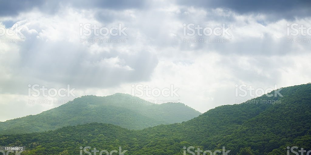 distant mountains royalty-free stock photo