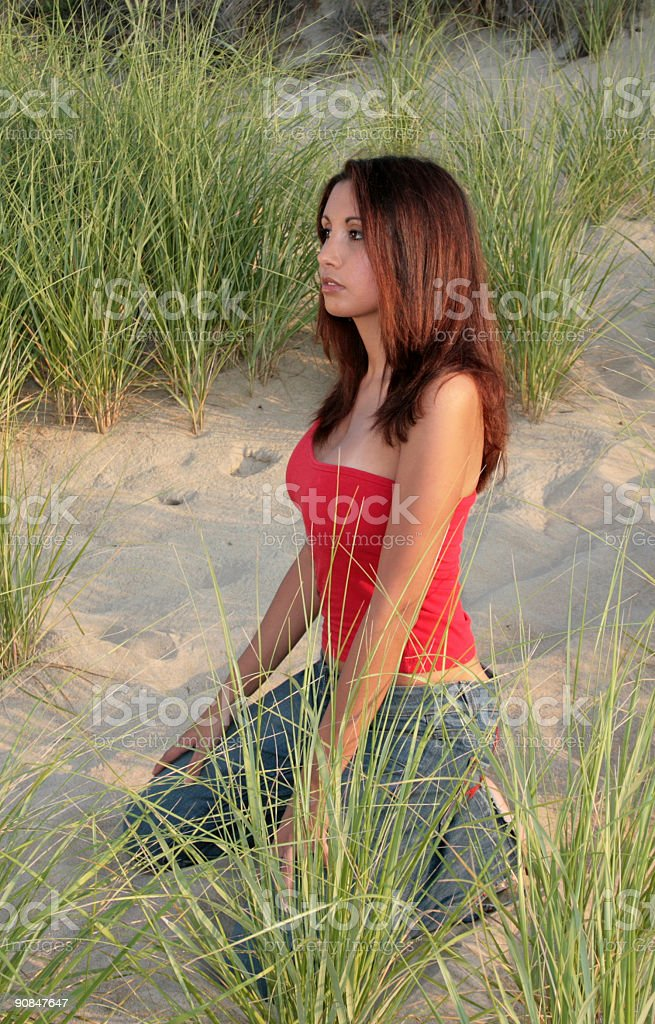 Distant Thoughts stock photo