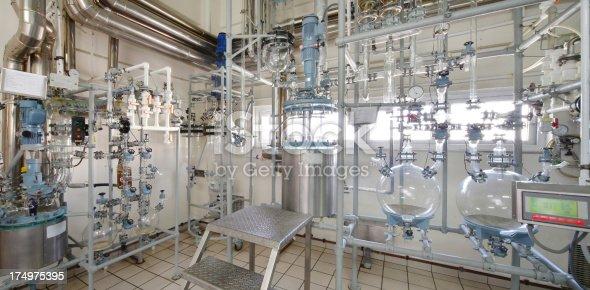 distillation room in laboratory