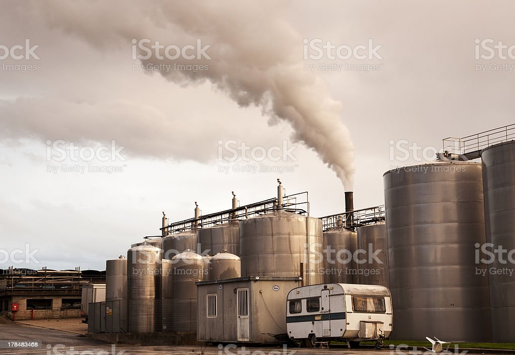 Distillery dregs royalty-free stock photo