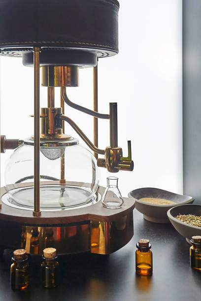 brennerei - whisky test stock-fotos und bilder