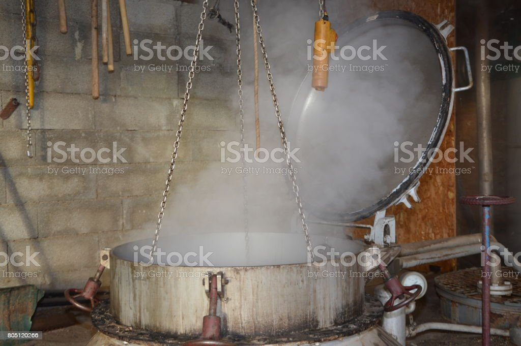 Distillery stock photo