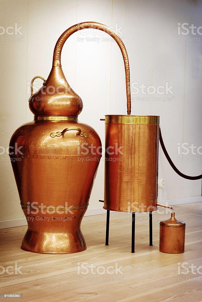 Distillery Still royalty-free stock photo