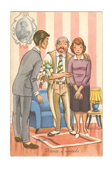 Royalty Free Vintage Adult Cartoons Pictures, Images and