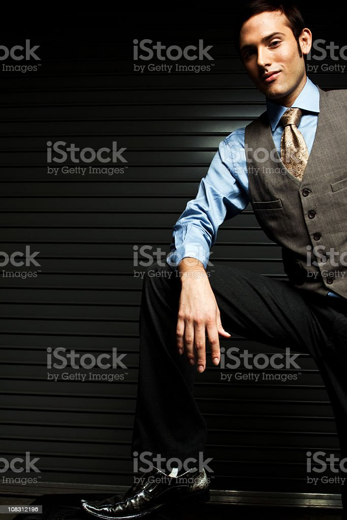Distinguished Business Man royalty-free stock photo
