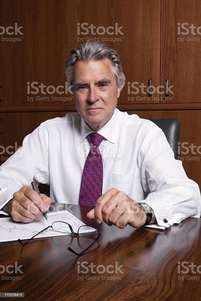 Distinguished Businessman royalty-free stock photo