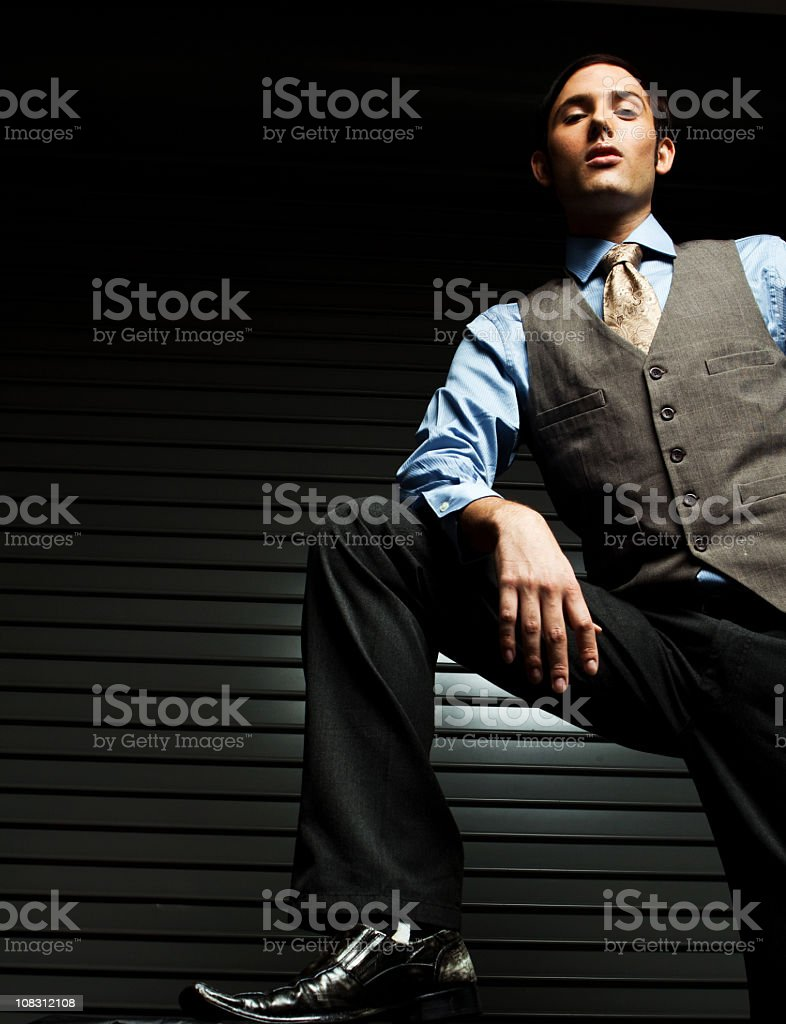 Distinguished Man royalty-free stock photo