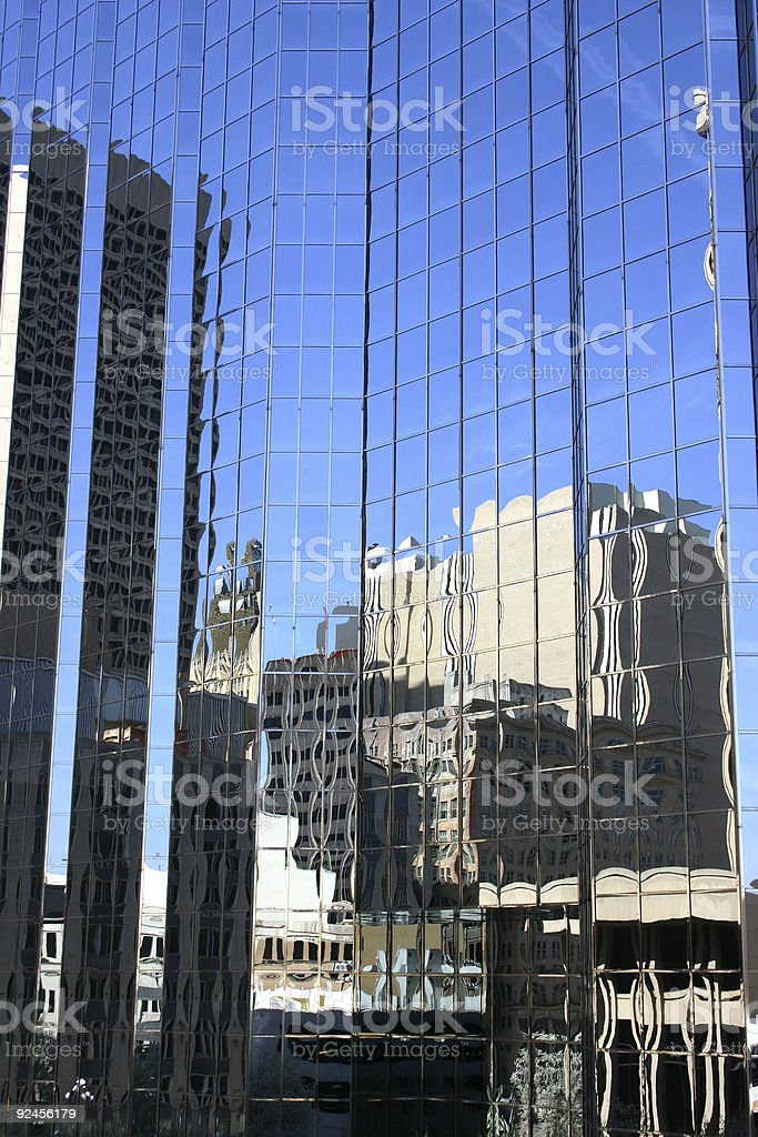 Distorted Reflections 2 royalty-free stock photo