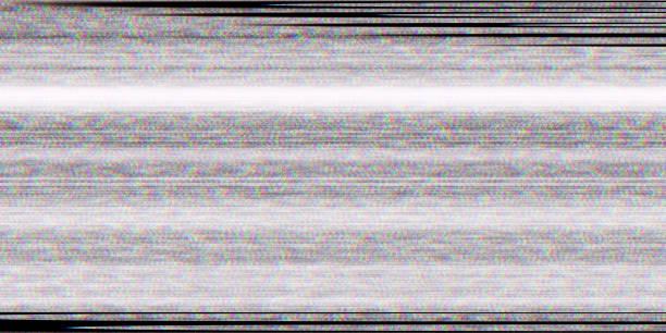 왜곡 텔레비전 결함 배경입니다. 화면 노이즈 텍스처입니다. 아무 신호 디스플레이입니다 없습니다. 나쁜 Tv 라인입니다. 스톡 사진