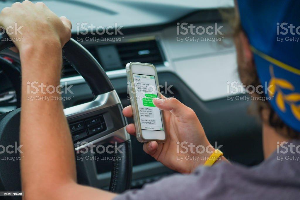 Ablenken Fahrer – Foto