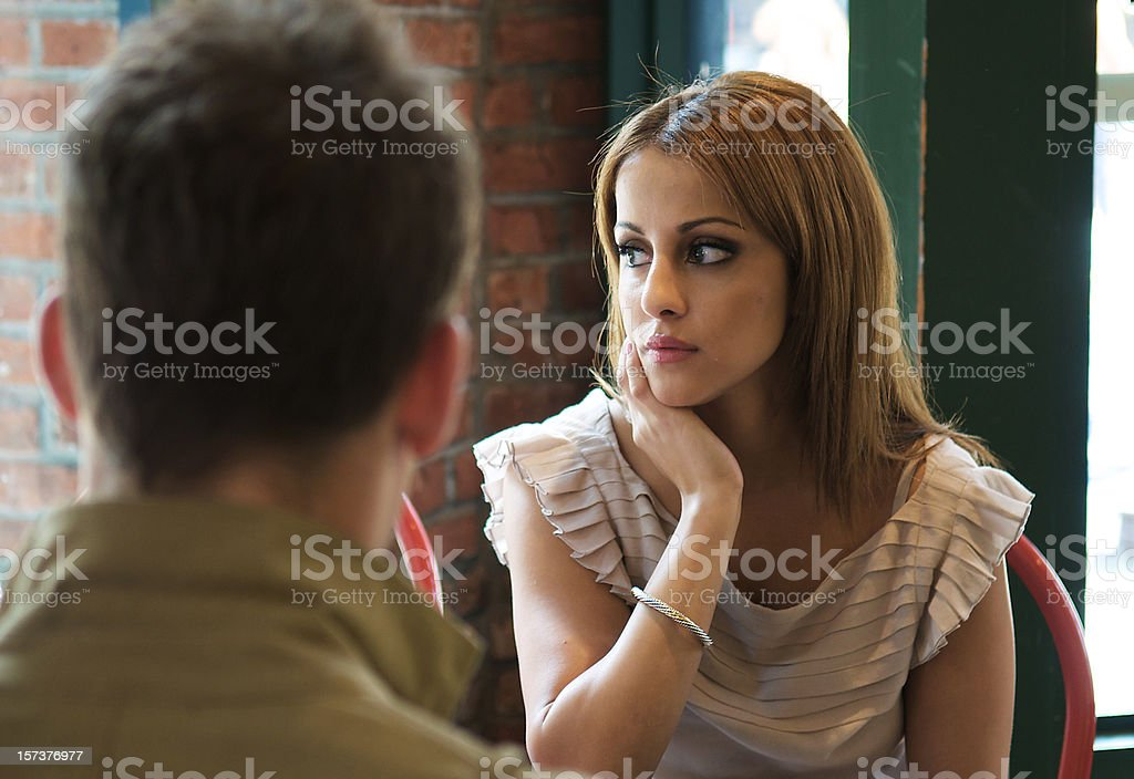 Distracted stock photo