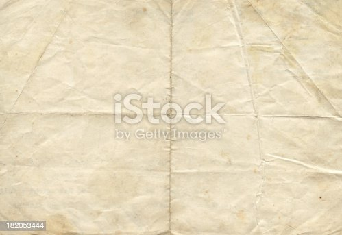 Folded paper for composition design or displacement maps into Photoshop.Please view more grunge paper backgrounds.