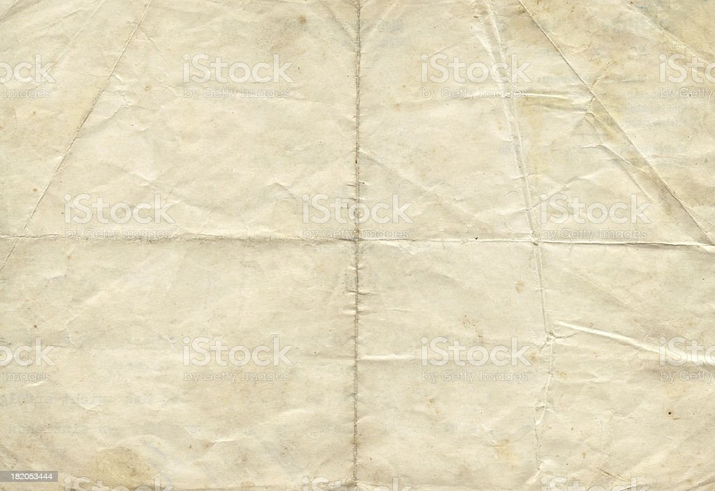 Distressed antique paper stock photo