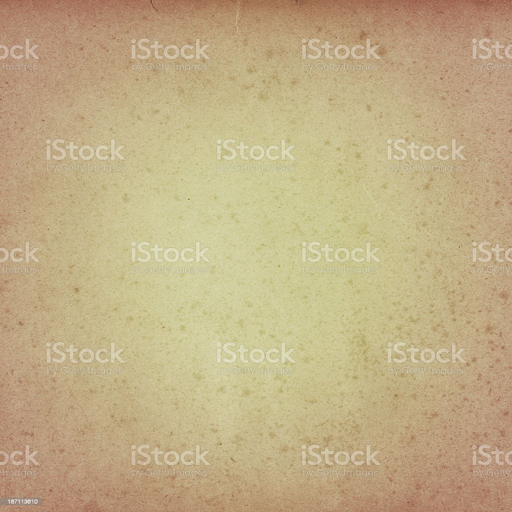 distressed beige paper with vignette royalty-free stock photo
